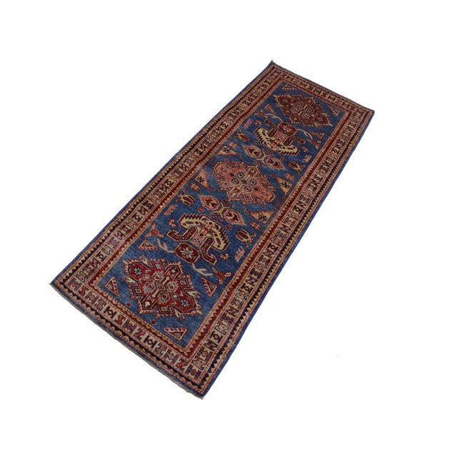 Traditional Slyvia Hand-Knotted Wool Rug - 2′7″ × 6′4″ For Sale - Image 3 of 8