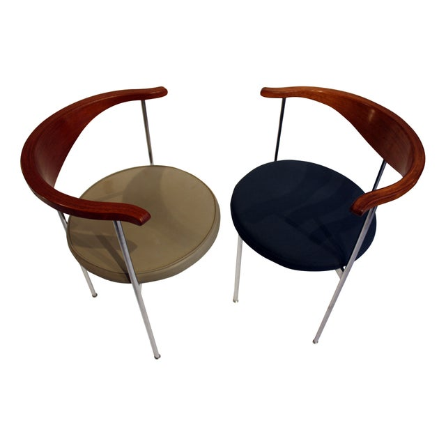 Frederick Sieck for Fritz Hansen El-Bow Chairs - Image 1 of 5