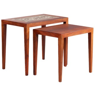 Nesting Tables by Haslev For Sale