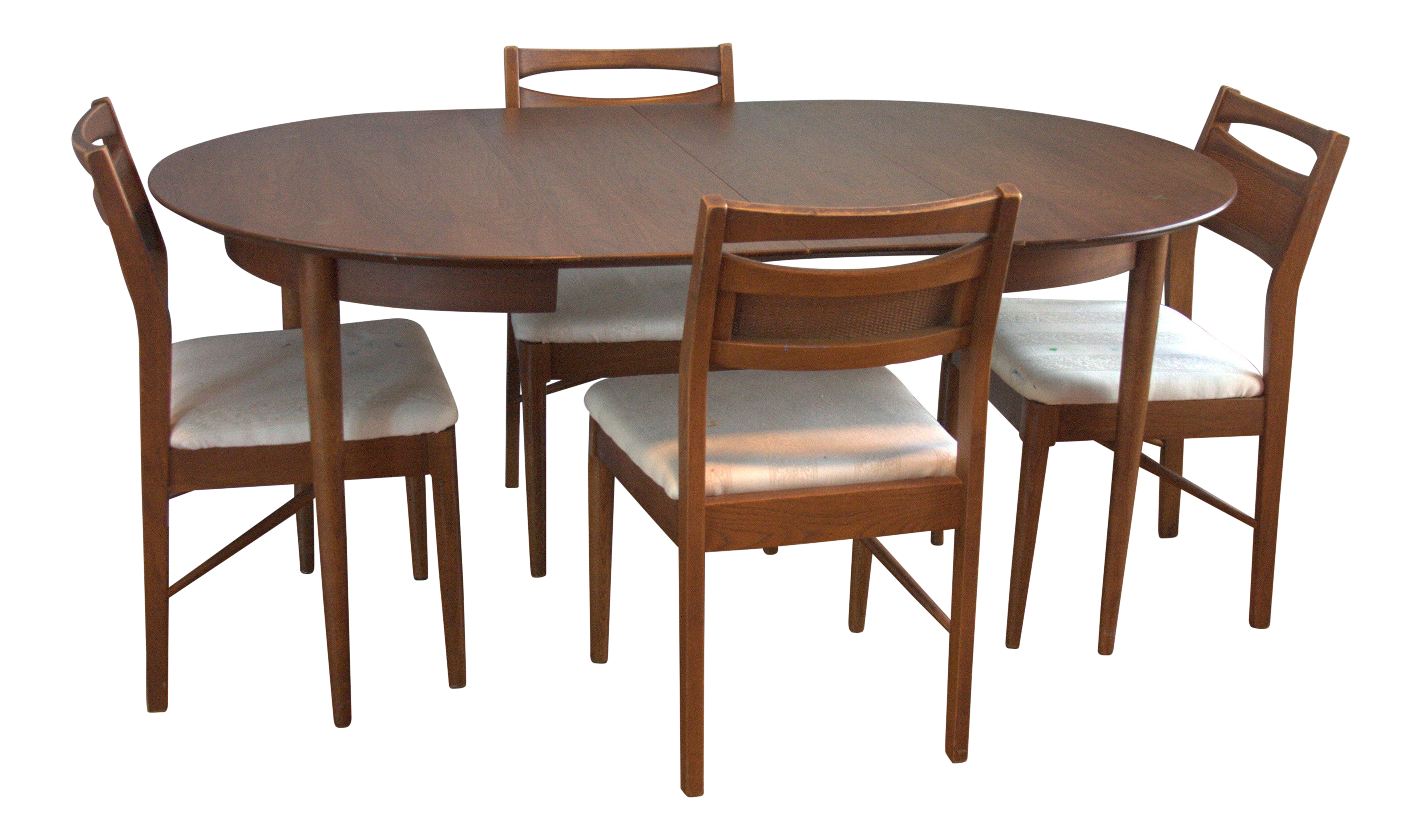 American Of Martinsville Mid Century Danish Modern Dining Set