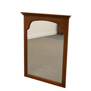 Pennsylvania House Solid Cherry Wall Mirror For Sale