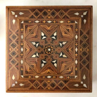 Vintage Marquetry Jewelry Box Preview