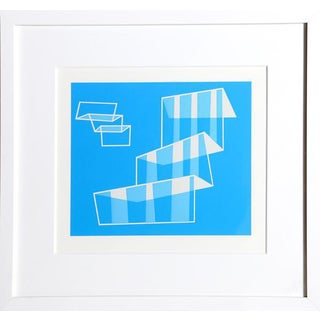 Josef Albers - Portfolio 1, Folder 1, Image 1 Framed Silkscreen For Sale