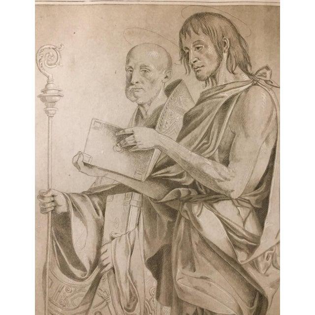 1770 Antique Giovanni Bellini Mezzotint Print For Sale - Image 4 of 8