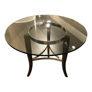 Transitional Bistro Center Table For Sale
