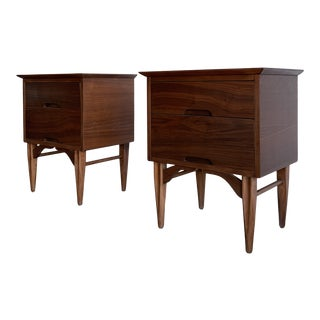 Mid Century Vega Morris Nightstands- Pair For Sale