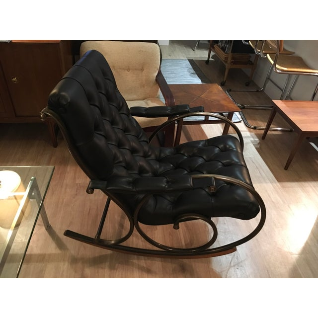Lee L. Woodard Rocking Chair For Sale - Image 9 of 11