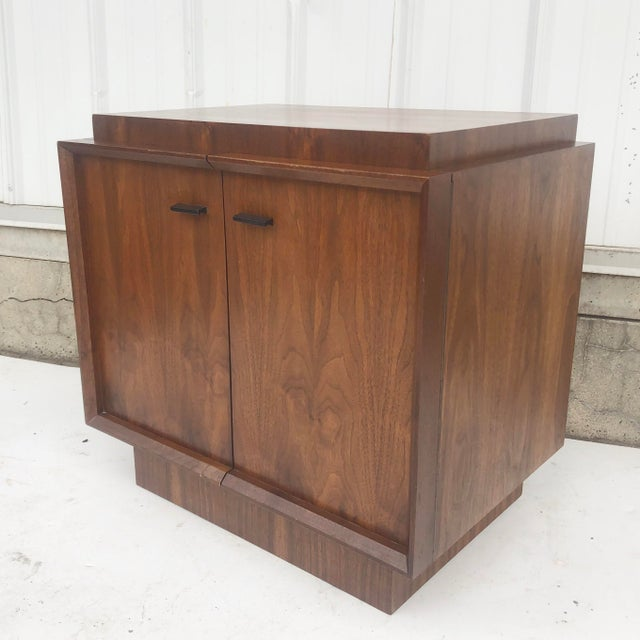 Mid-Century Brutalist Nightstand For Sale - Image 12 of 13