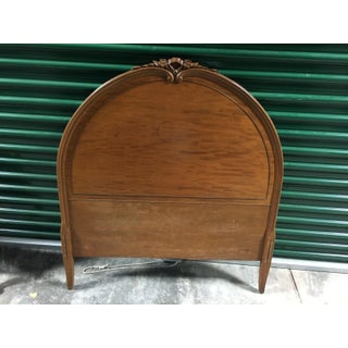 Antique French Twin Bed Headboard and Footboard With Carved Details- 2 Pieces Preview