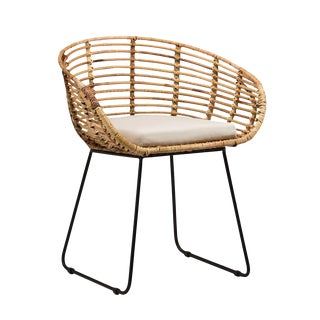 Rattan Dining Chair For Sale