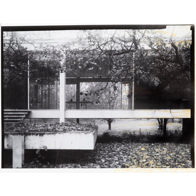 """""""Farnsworth House Early Decline #2"""" Photograph by Jim Zanzi For Sale In Chicago - Image 6 of 6"""