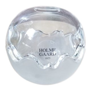 Contemporary Holmegaard Mixed Double Glass Bowl For Sale