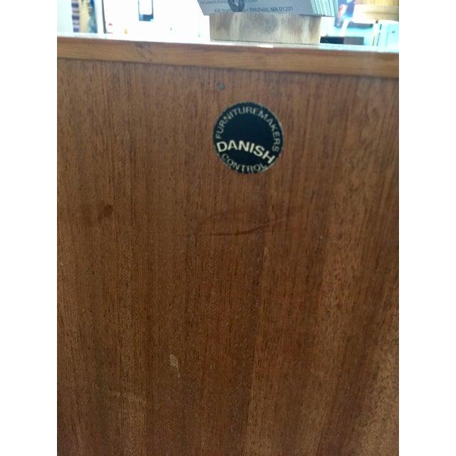Danish Modern Rosewood 2 Door Cabinet - Image 10 of 10