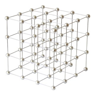 Cubic Modern Geometric Sculpture For Sale
