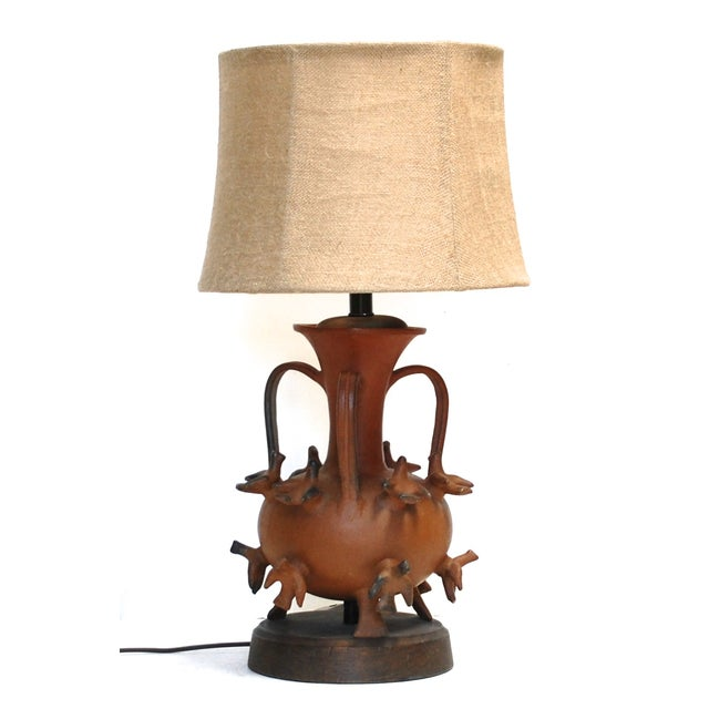 1950s Mexican Ceramic Lamp - Image 2 of 6