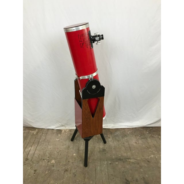 "Vintage 6"" f5.8 Dobsonian telescope hand made in 1999 by the legendary Pierre Schwaar (1946-2000) of Phoenix AZ. This is..."