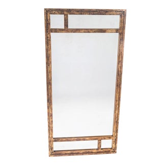 ASSYMETRICAL MIRROR BY LA BARGE For Sale