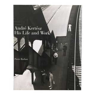1994 Hungarian Photographer Andre Kertesz : His Life and Work Hardcover First Edition Book For Sale
