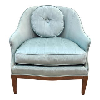 Mid-Century Spoon Back Club Chair For Sale