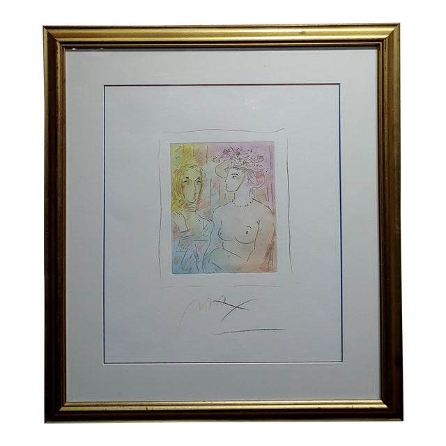 Peter Max - Homage to Pablo Picasso -Original Color Etching For Sale