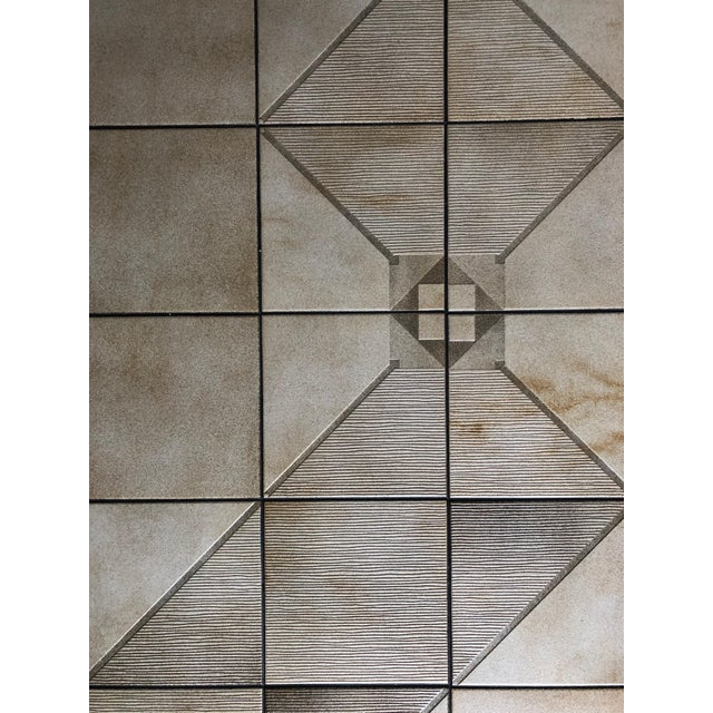 Coffee Vintage Mid-Century Danish Modern Tile Top Coffee Table by Gangso Mobler For Sale - Image 8 of 10