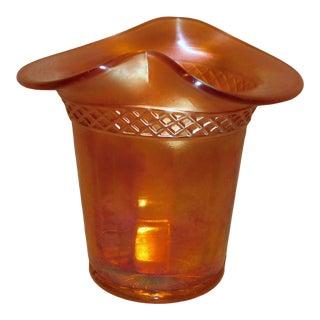 Dugan Carnival Glass Vase For Sale