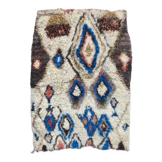 Vintage Tribal Boujad Rug For Sale