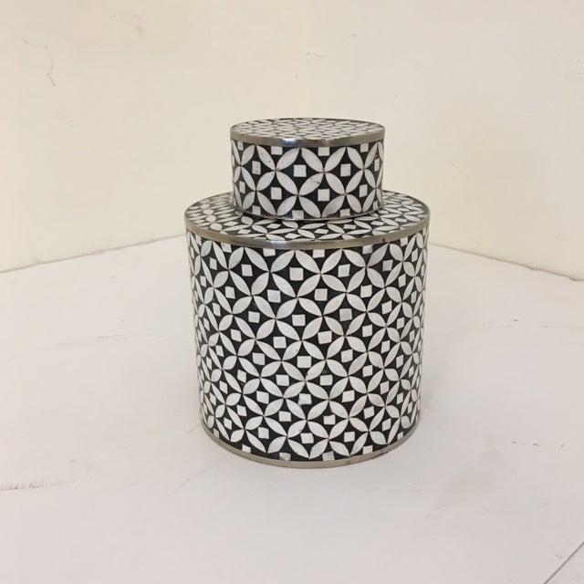 Cloisonné Contemporary Decorative Cloisonné Jar For Sale - Image 7 of 7