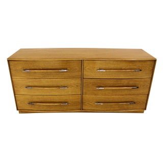 Robsjohn-Gibbings for Widdicomb Mid Century Modern Dresser or Credenza Light Wal For Sale