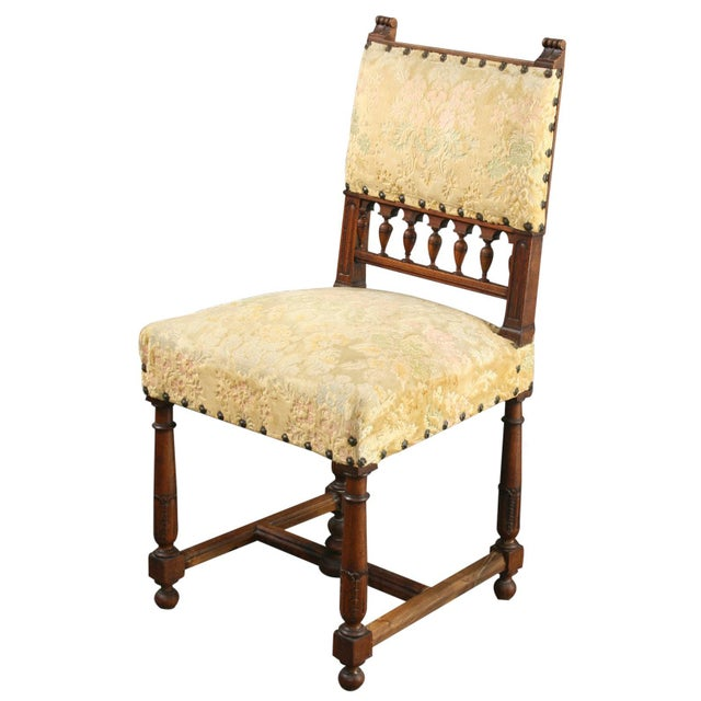 Antique 1900 French Dining Chairs - Set of 8 - Image 2 of 8