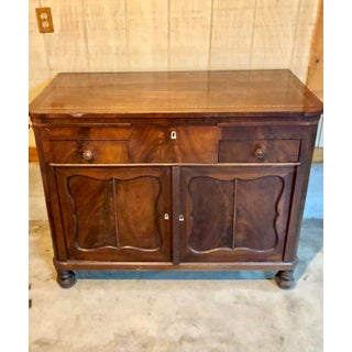 Antique Feathered Mahogany Gentleman's Chest Preview