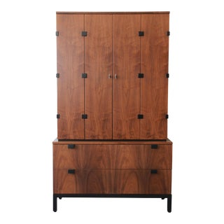 Milo Baughman for Directional Mid-Century Modern Walnut Gentleman's Chest