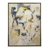 """Image of Abstract Laurie MacMillan """"Safari"""" Painting For Sale"""
