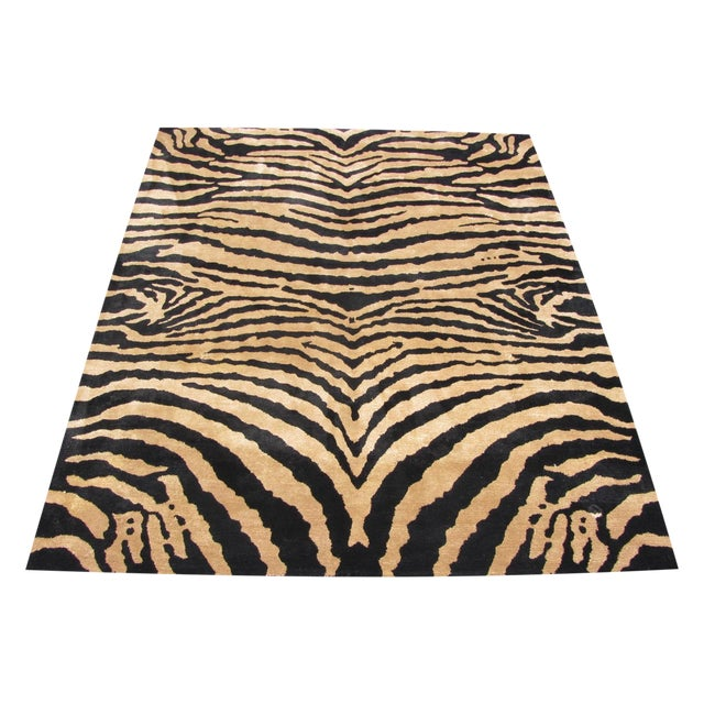 Safavieh Soho Zebra Rug - 7′6″ × 9′6″ - Image 1 of 4
