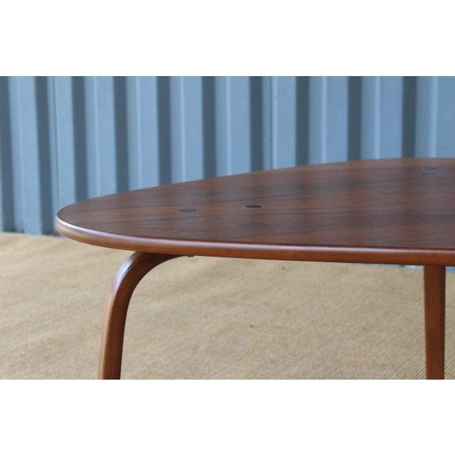 "Yngve Ekstrom ""Krok"" Teak Side Table, Sweden, 1950s For Sale In Los Angeles - Image 6 of 10"