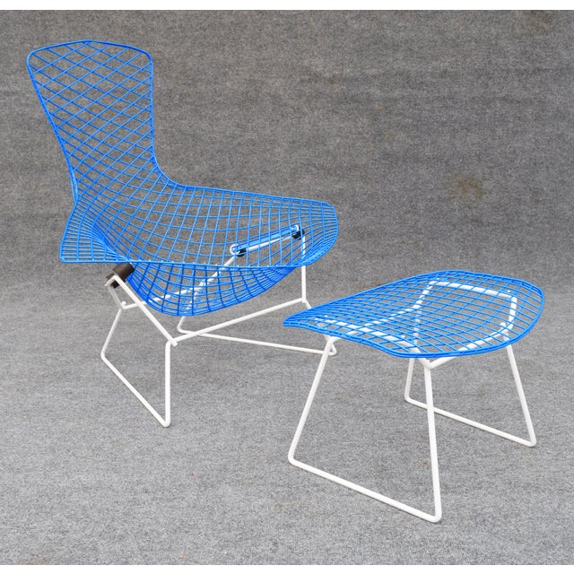 "Mid-Century Modern ""Bird"" Chair & Ottoman For Sale - Image 10 of 10"