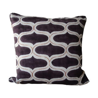 """Brinjal"" Accent Pillow"