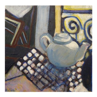 """Little Teapot"" Oil Painting For Sale"