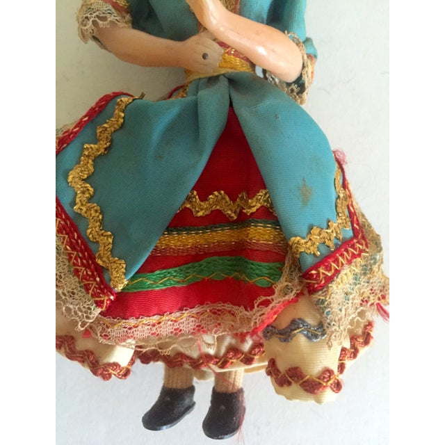 1950's Vintage Handcrafted Spanish Gypsy Souvenir Dolls- Set of 3 - Image 11 of 11
