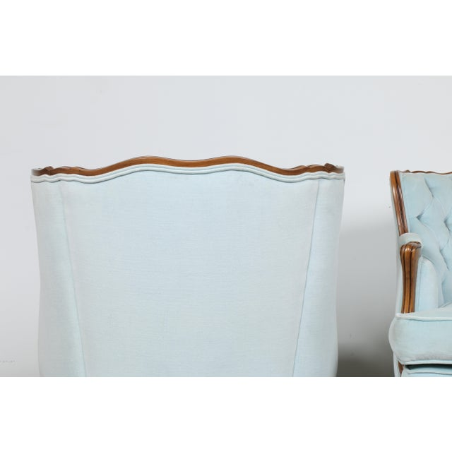 Italian-Style Chairs in Baby Blue - A Pair - Image 9 of 11
