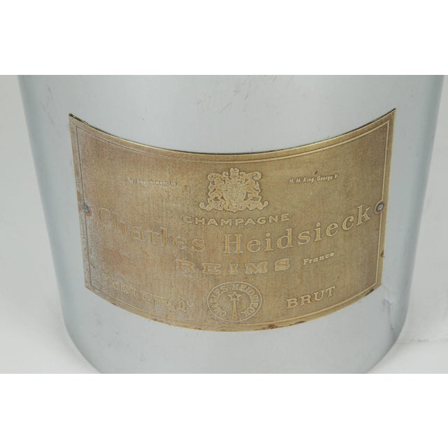 Art Deco American Chrome Champagne Ice Bucket For Sale In Los Angeles - Image 6 of 7