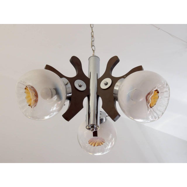 1970s Vintage Murano Glass Ceiling Lamp, 1970s For Sale - Image 5 of 10