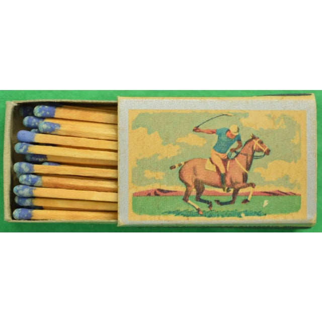 1955 Ohio Blue Tip Polo Matchbooks - A Pair - Image 4 of 4