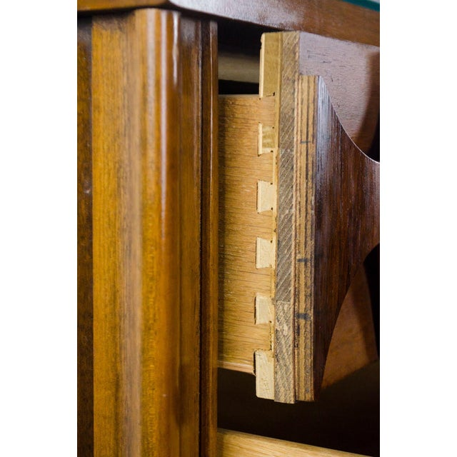 Kent Coffey Perspecta Walnut and Rosewood Credenza For Sale - Image 9 of 13