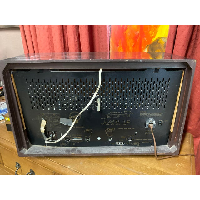Blaupunkt Mid Century Short Wave Radio For Sale In New York - Image 6 of 10