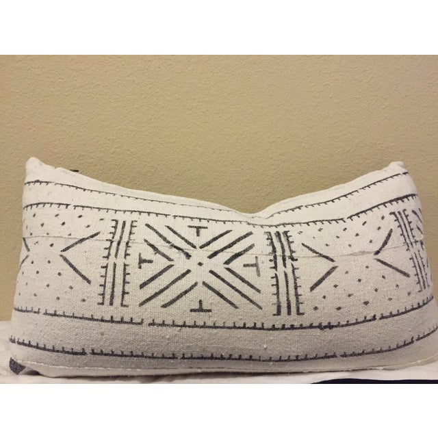 African Mudcloth Boho Chic Pillow - Image 2 of 5