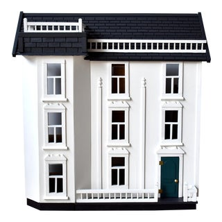 Vintage Handmade Colonial Dollhouse For Sale