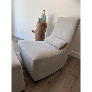 Ligne Roset Alban-Sebastien Gilles 'Neo' Rocking Chair & Ottoman Preview