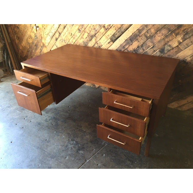 Mid-Century Executive Reception Desk - Image 5 of 6