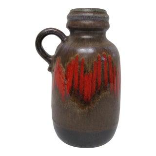 West German Pottery Scheurich 413-20 Lora Vase For Sale